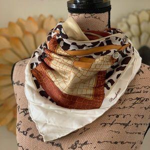 Brahmin silk scarf
